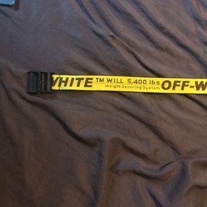 off white belt